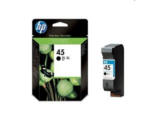 Расходные материалы HP 51645AE Картридж №45, Black DJ710/720/8XX/1600/930C/950/959/970Cxi/DJ1100/20/1220C/6122/27, black
