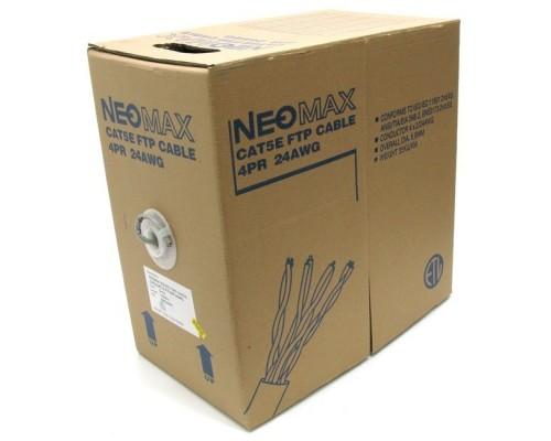 NEOMAX NM20001 Кабель FTP cat.5e, 4 пары, (305м) 0.52мм Медь PVC jacket