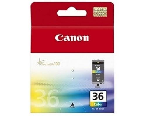 Расходные материалы Canon CLI-36Color 1511B001 Картридж для Mini Pixma 260, Цветной, 250стр.