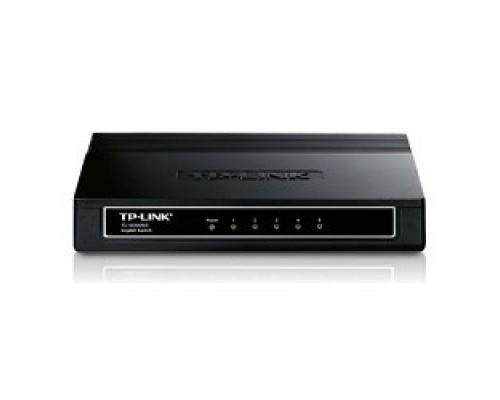 Сетевое оборудование TP-Link TL-SG1005D 5-портовый гигабитный настольный коммутатор