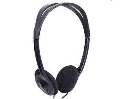 Наушники Defender HN-101 стерео, регулят. громк., 1.8м кабель 63101