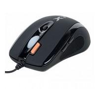 A4Tech X(7)-710BK (черный) USB, 2000dpi, встр. память 16Кб, 1000ГЦ, 7 кнопок. 94397
