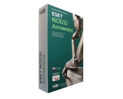 NOD32-ENA-NS(BOX)-2-1 ESET NOD32 Антивирус Platinum Edition лицензия на 2 года на 3 ПК 310077