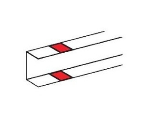 Legrand 010691 Накладка на стык - DLP - на защелках - для DLP - секционируемая - белая