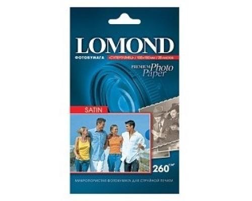 Бумага LOMOND 1106200 Фотобумага Сатин Премиум A4, 270г/м2, 20л.