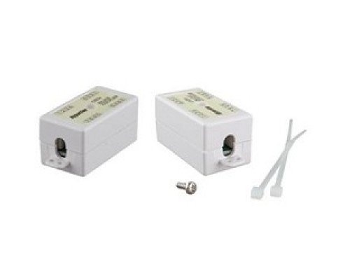 Hyperline CA-IDC-C5e-WH Проходной адаптер (coupler), Dual IDC (110&Krone), категория 5e, 4 пары