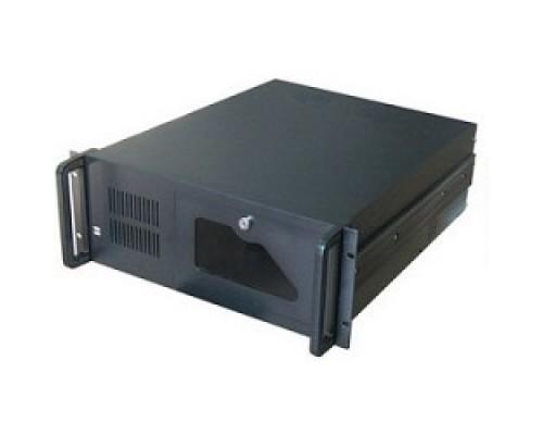 Procase B440-B-0 черный 4U глубина 450мм, внешн 2x5.25, 1x3.5, внутр 7xHDD, MB 12x9,6, без Б/П PS2