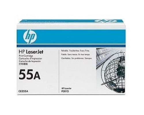 HP CE255A Картридж ,Black LJ P3015, Black, (6000стр.)