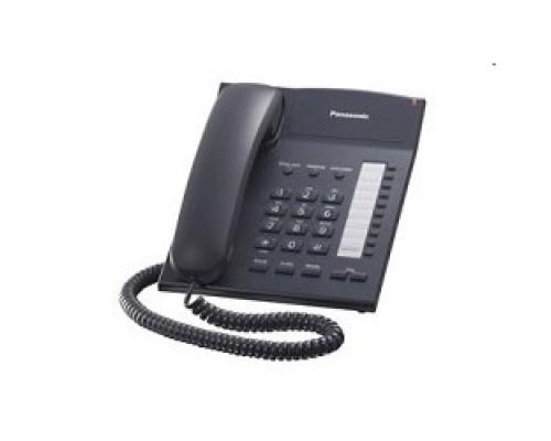Panasonic KX-TS2382RUB (черный) индикатор вызова,повторный набор последнего номера,4 уровня громкости звонка