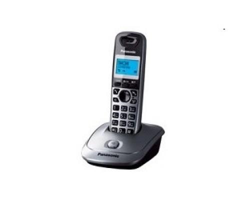Panasonic KX-TG2511RUM (металик) АОН, Caller ID,спикерфон на трубке,переход в Эко режим одним нажатием