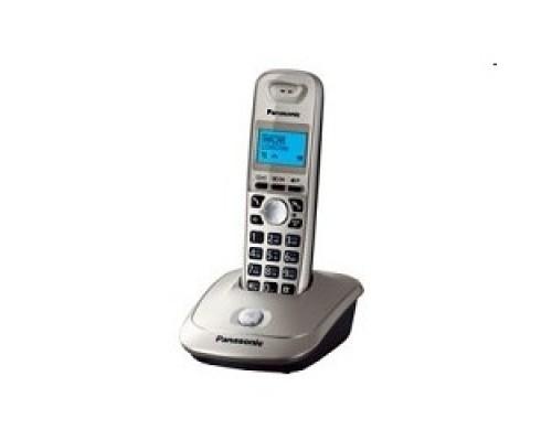 Panasonic KX-TG2511RUN (золото/платиновый) АОН, Caller ID,спикерфон на трубке,переход в Эко режим одним нажатием