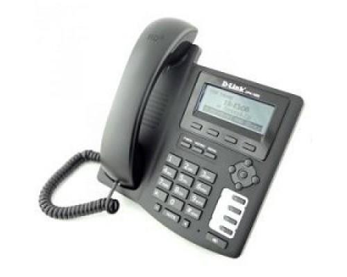 D-Link DPH-150S/F5B IP-телефон с цветным дисплеем, 1 WAN-портом 10/100Base-TX и 1 LAN-портом 10/100Base-TX