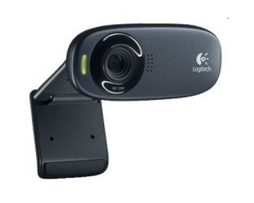 Цифровая камера 960-000638/960-001065 Logitech HD Webcam C310, USB 2.0, 1280*720, 5Mpix foto, Mic, Black