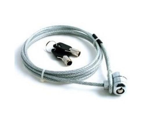 CBR CL-10 Тросик для ноутбука , Kensington Lock, на ключе, 1м, блистер, RTL,00000000174