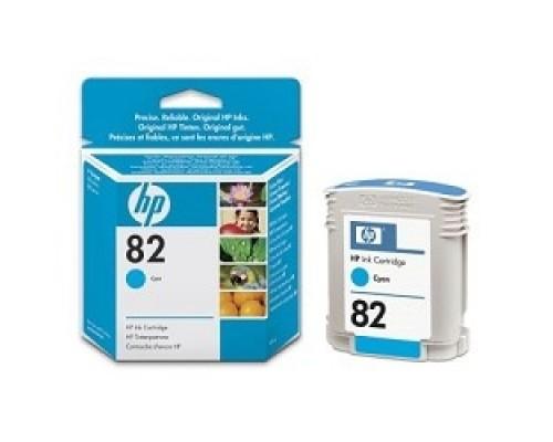 HP C4911A Картридж №82, Cyan DesignJet 500/800, Cyan (69 ml)