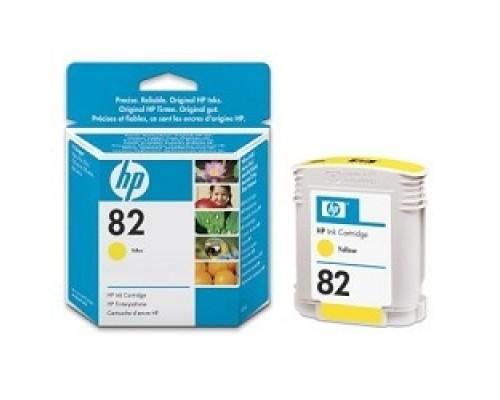 HP C4913A Картридж №82, Yellow DesignJet 500/800, Yellow (69 ml)