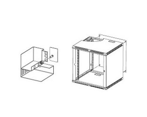 ЦМО Стенка задняя к шкафу ШРН, ШРН-Э и ШРН-М 15U в комплекте с крепежом (А-ШРН-15)