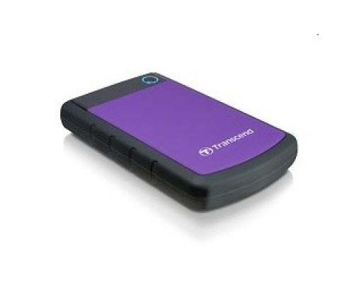 Носитель информации Transcend Portable HDD 1Tb StoreJet TS1TSJ25H3P USB 3.0, violet