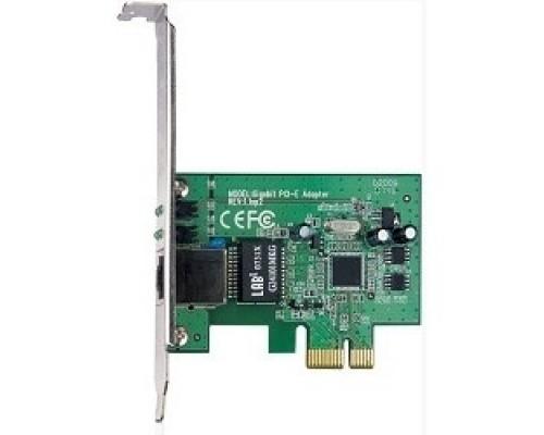 TP-Link TG-3468 32bit Gigabit PCI Express, Realtek RTL8168B chipset (+ Низкопрофильная планка)