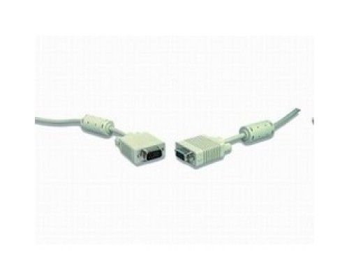 Gembird/Cablexpert CC-PPVGA-15m, VGA Premium ,15M/15M,15м, двойн. экран,феррит. кольца,пакет