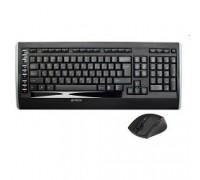 A-4Tech + мышь 9300F, беспроводная, черный, USB 618555