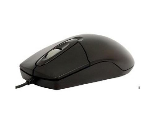 A-4Tech OP-720 (черный) USB, пров. опт. мышь, 2кн, 1кл-кн 513289