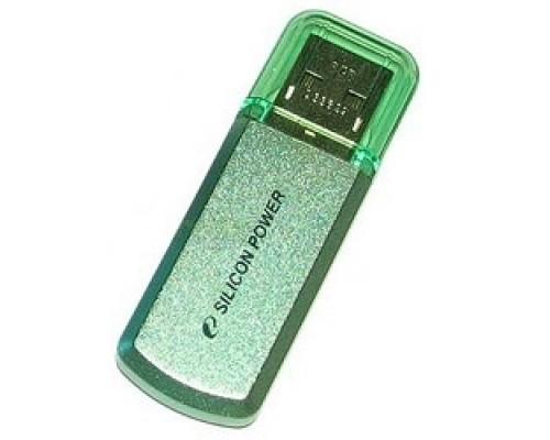 Silicon Power USB Drive 8Gb Helios 101 SP008GBUF2101V1N USB2.0, Green