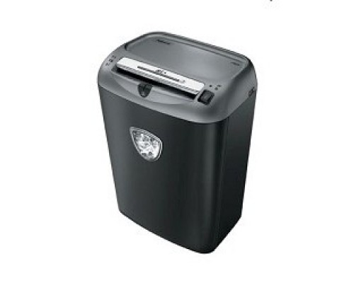 Fellowes Шредер Powershred 75Cs FS-46750 (FS-4675001/FS-4675002) авт., 3.9х50мм, 12лст., 27лтр., уничтожает: скобы, карты, скрепки, CD, селектор кол-ва листов