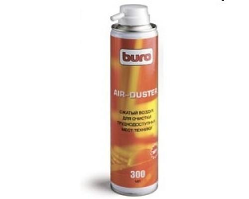 Чистящие средства BURO BU-AIR 817417 Баллон со сжатым воздухом, 300 мл.