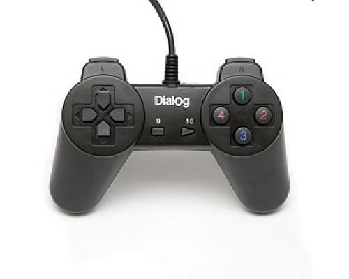 Dialog Action GP-A01, черный , 10 кнопок, USB