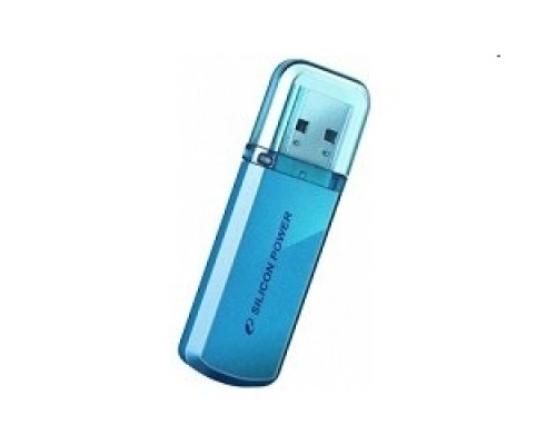 Носитель информации Silicon Power USB Drive 8Gb Helios 101 SP008GBUF2101V1B USB2.0, Blue