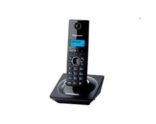 Panasonic KX-TG1711RUB (черный) АОН, Caller ID,12 мелодий звонка,подсветка дисплея,поиск трубки