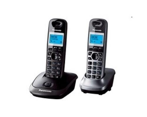Panasonic KX-TG2512RU2 Доп трубка в комплекте, АОН, Caller ID, спикерфон, полифония