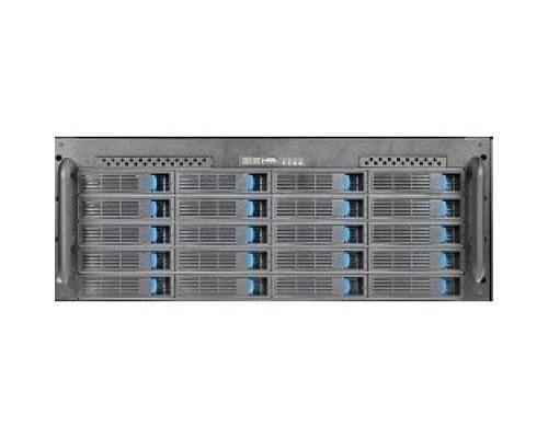 Procase ES424-SATA3-B-0 4U 24 SATAII/SAS hotswap HDD, глубина 650мм, MB 12x13, без Б/П ,черный