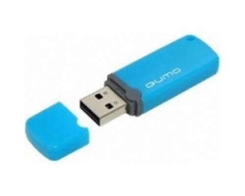 Носитель информации USB 2.0 QUMO 8GB Optiva 02 Blue QM8GUD-OP2-blue