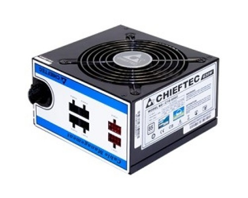 Блок питания Chieftec 650W RTL CTG-650C ATX-12V V.2.3/EPS-12V, PS-2 type with 12cm Fan, PFC,Cable Management ,Efficiency >85 , 230V ONLY