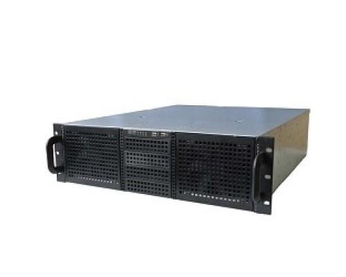 Procase EB306-B-0 черный 3U глубина 550мм, MB 12x10.5, без Б/П