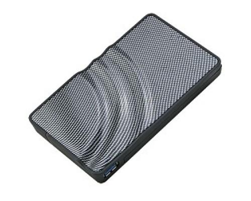 AgeStar 3UB2P USB 3.0 Внешний корпус 2.5 SATA HDD/SSD AgeStar 3UB2P USB3.0, алюминий, черный/серебристый, безвинтовая конструкция (06992/592006)