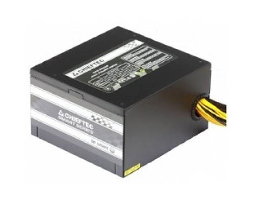 Chieftec 650W RTL GPS-650A8 ATX-12V V.2.3 PSU with 12 cm fan, Active PFC, fficiency >80% with power cord 230V only