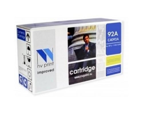 NV Print C4092A Картридж NVPrint для принтеров  LaserJet 1100/ 3200/ 3220. 2500 стр.