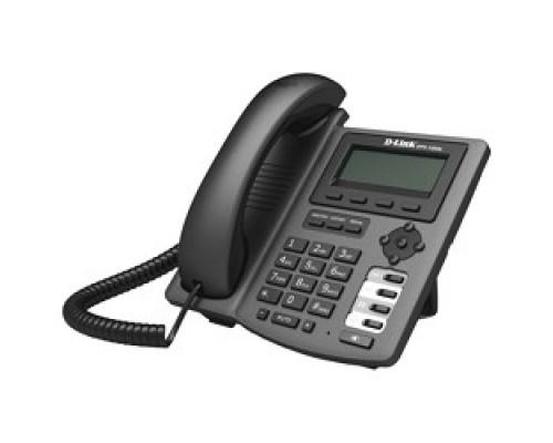 D-Link DPH-150SE/F5B IP-телефон с цветным дисплеем, 1 WAN-портом 10/100Base-TX, 1 LAN-портом 10/100Base-TX и поддержкой PoE (адаптер питания в комплект поставки не входит)