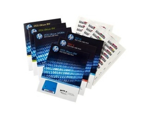 HPE Q2013A, LTO-6 Ultrium RW Bar Code Label Pack