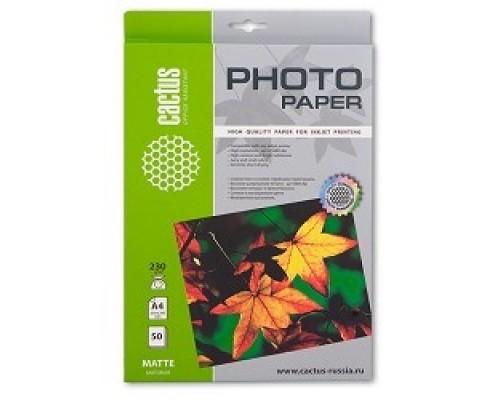 Бумага CACTUS MA423050 Фотобумага Cactus CS-MA423050 матовая, г/м2, листов