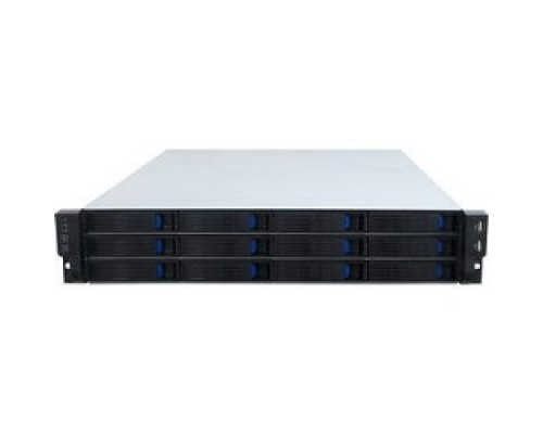 Procase ES212-SATA3-B-0 2U 12 SATA3/SAS hotswap HDD, глубина 650мм, MB 12x13, без Б/П