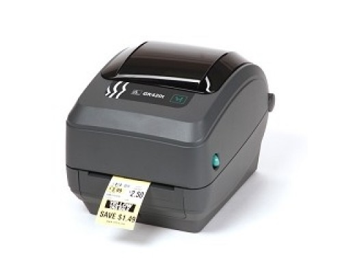 Zebra GK420t GK42-102520-000 Черный TT Printer, 203 dpi, Euro and UK cord, EPL, ZPLII, USB, Serial, Centronics Parallel