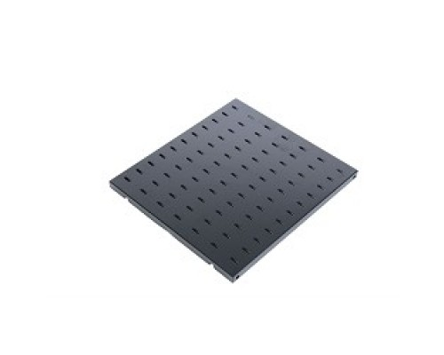 ЦМО Полка перфорированная, глубина 620 мм, цвет черный (СВ-62-9005)