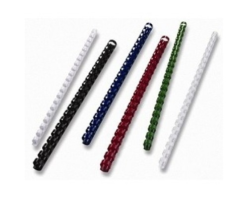 Office Kit Пластиковые пружины BP2051 16 мм белые 100 шт.