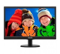 LCD PHILIPS 19.5 203V5LSB26(10/62) черный TN 1600x900 90/50 1000000:1 5ms 200cd D-Sub