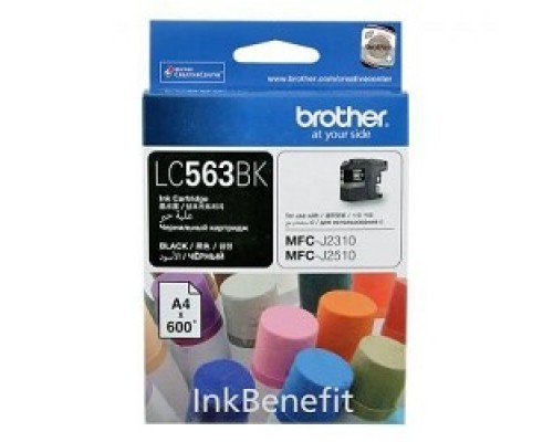 Расходные материалы Brother LC-563BK Картридж , BlackMFCJ2510/2310,