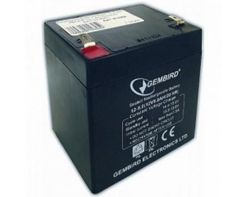 батареи Gembird Аккумулятор для Источников Бесперебойного Питания BAT-12V5AH